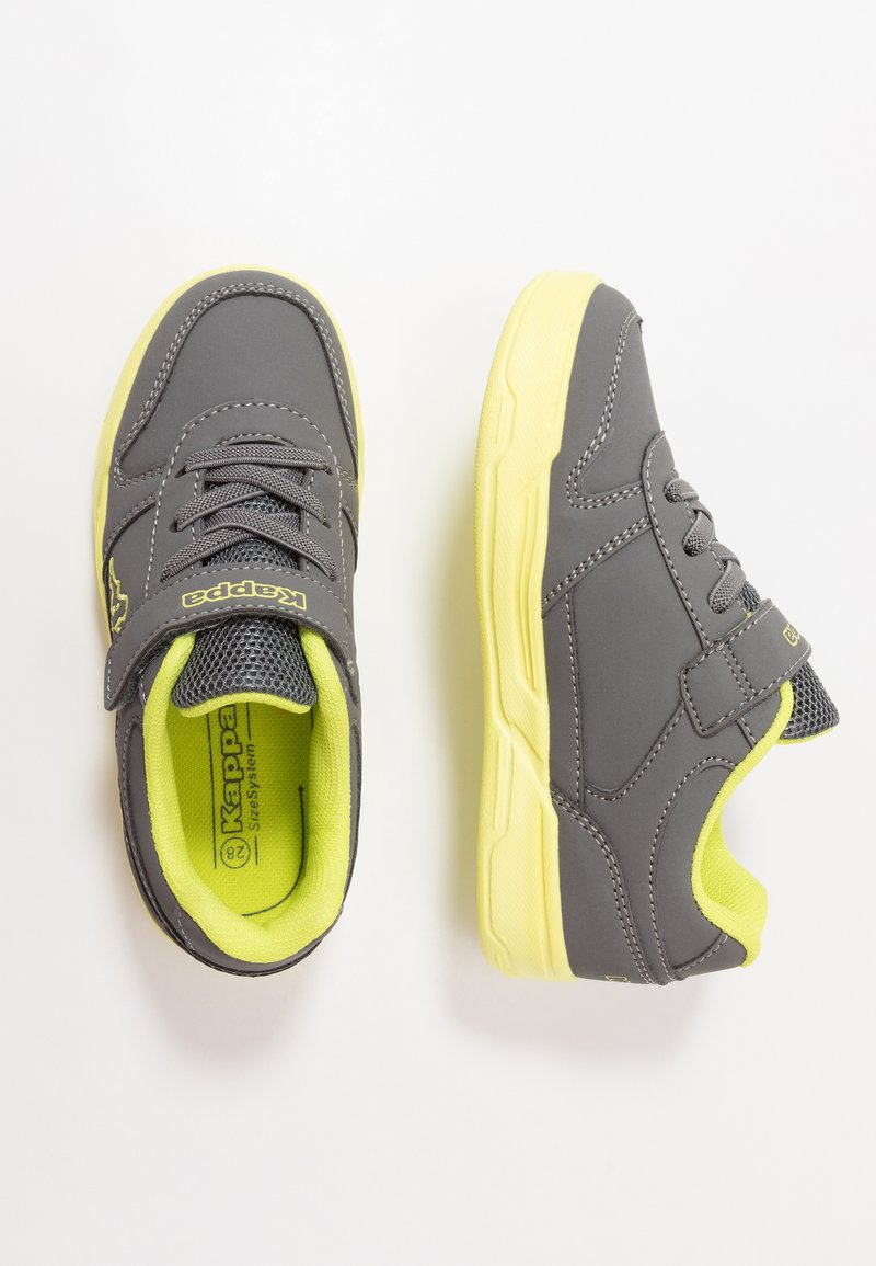Kappa - DALTON ICE - Sports shoes - grey/lime