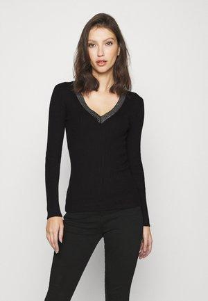 FAUSTI - Sweter - noir