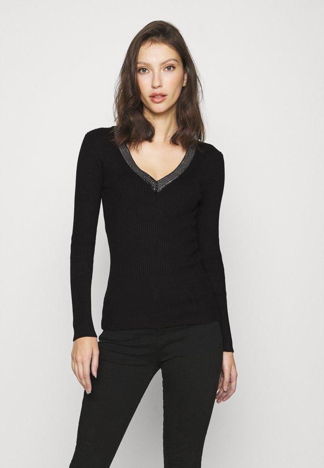 FAUSTI - Pullover - noir