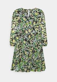 TOM TAILOR DENIM - LIGHT MINI DRESS - Day dress - multi-coloured - 6