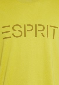 Esprit - LOGO - Print T-shirt - pistachio green - 2