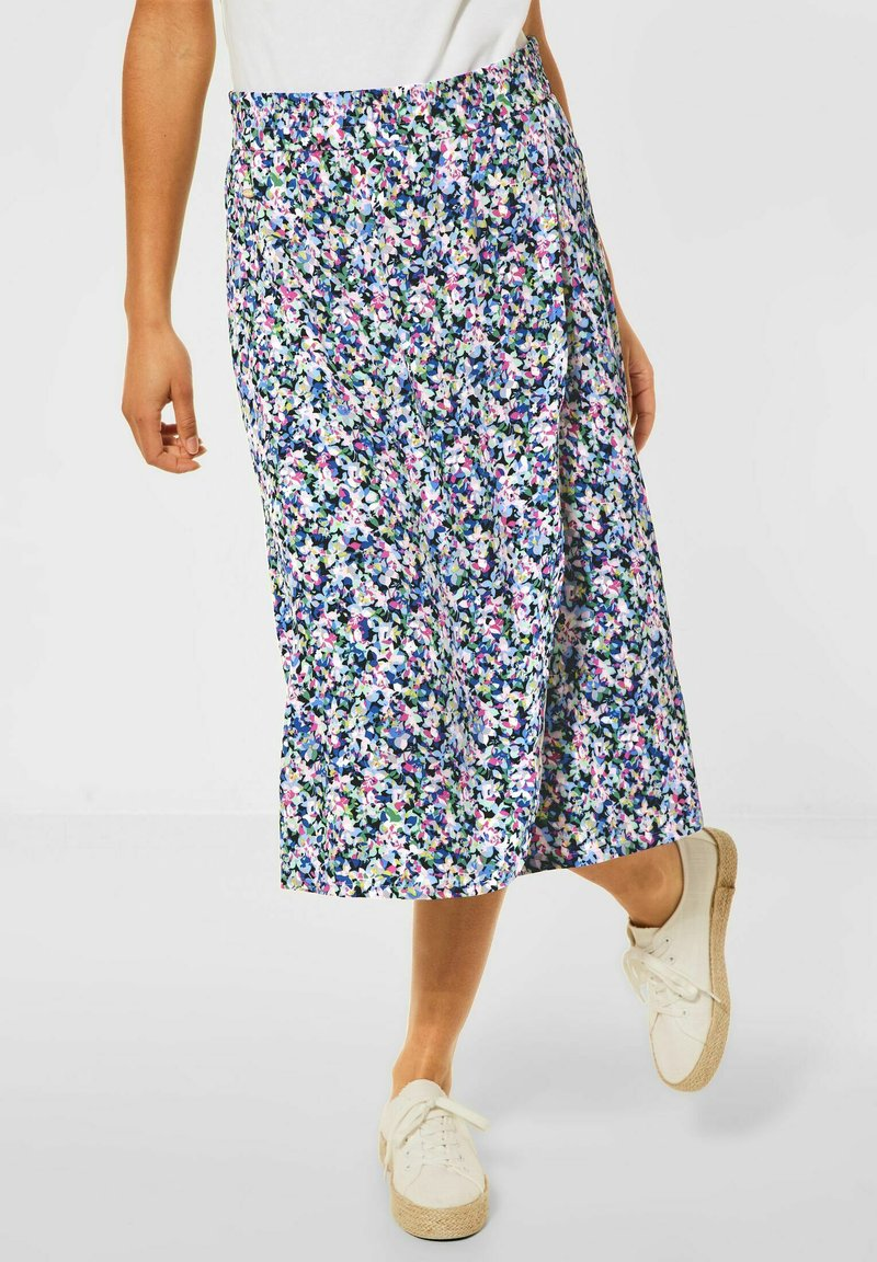 Street One - ROCK - A-line skirt - multi color