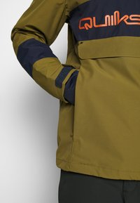 Quiksilver - STEEZE - Snowboard jacket - military olive - 6