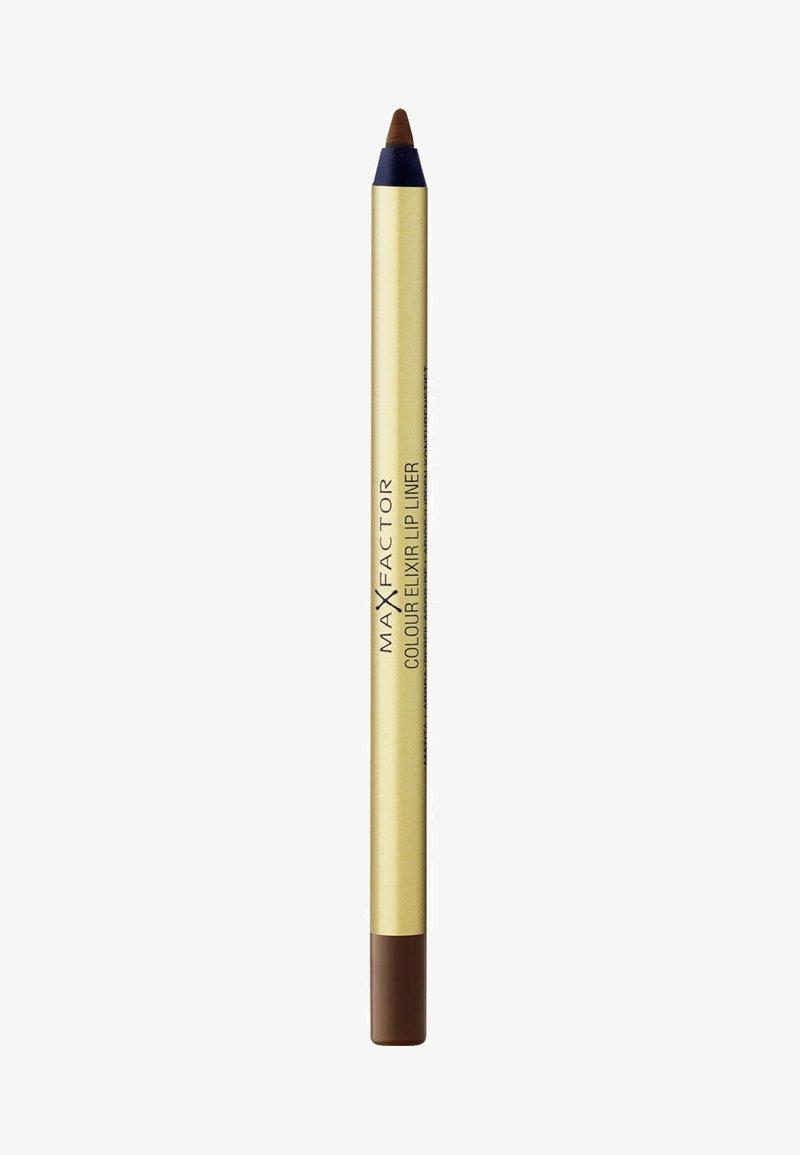 Max Factor - COLOUR ELIXIR LIP LINER - Lip liner - 16 brown 'n' bold