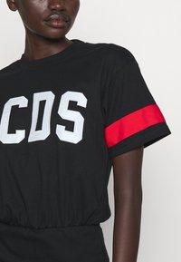 GCDS - WRAPPED DRESS - Day dress - black - 5