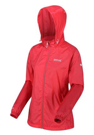 CORINNE - Waterproof jacket - red sky