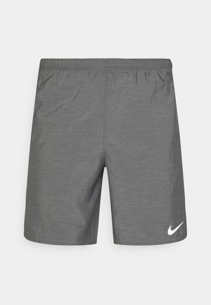 CHALLENGER SHORT - Träningsshorts - smoke grey heather/reflective silver