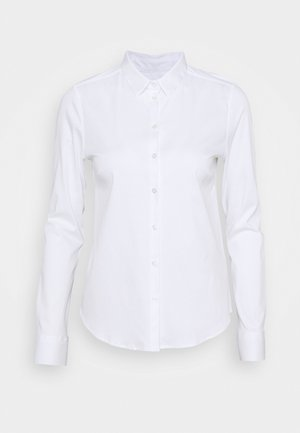 TINA - Button-down blouse - white