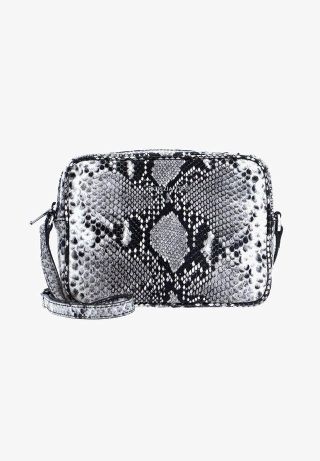 PEPE CITY  - Across body bag - grey python