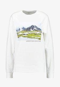 Merchcode - LADIES SUPPORT YOUR LOCAL PLANET CREWNECK - Sweatshirt - white - 3