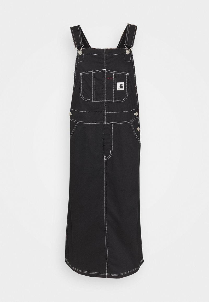 Carhartt WIP Jeanskleid - black/schwarz z2qTxs