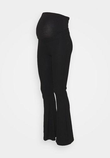 OLMNELLA FLARED PANT - Trousers - black