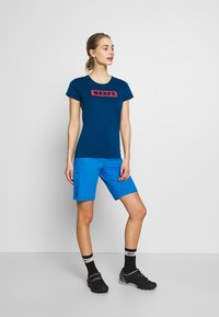 ION - TEE SEEK - T-Shirt print - ocean blue - 1