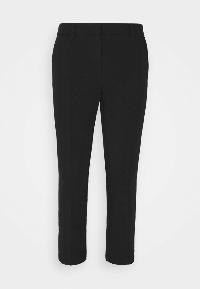 NAPLES ANKLE GRAZER TROUSERS - Pantalon classique - black