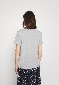 Marks & Spencer London - RELAXED - Basic T-shirt - grey - 2