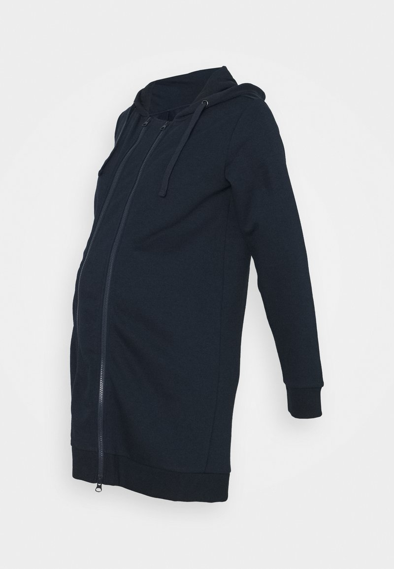 MAMALICIOUS - MLCELVIA 3IN1 CARDIGAN - Zip-up hoodie - navy blazer
