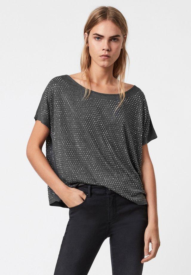 HELENE SPARKLE TEE - T-shirt imprimé - grey