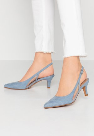 Klassiske pumps - blue