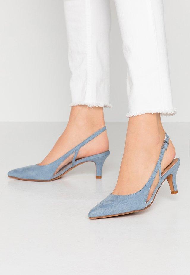 Klassiske pumps - blue