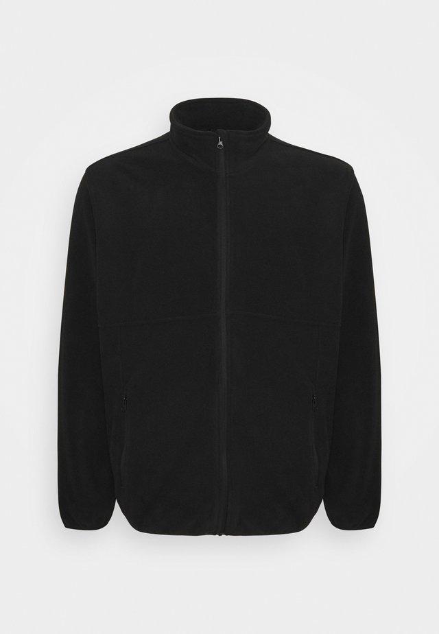 JJHYPE - Fleece jacket - black