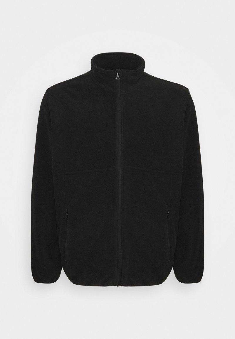 Jack & Jones - JJHYPE - Fleece jacket - black