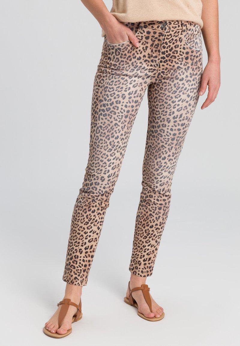 Marc Aurel - Jeans Skinny Fit - sand varied