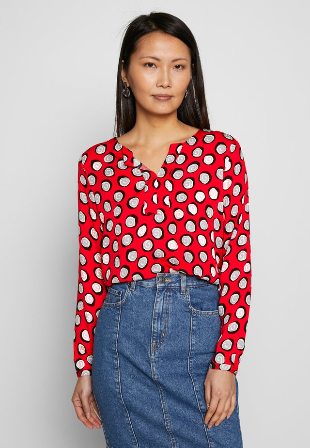 LONG SLEEVED - Blouse - red