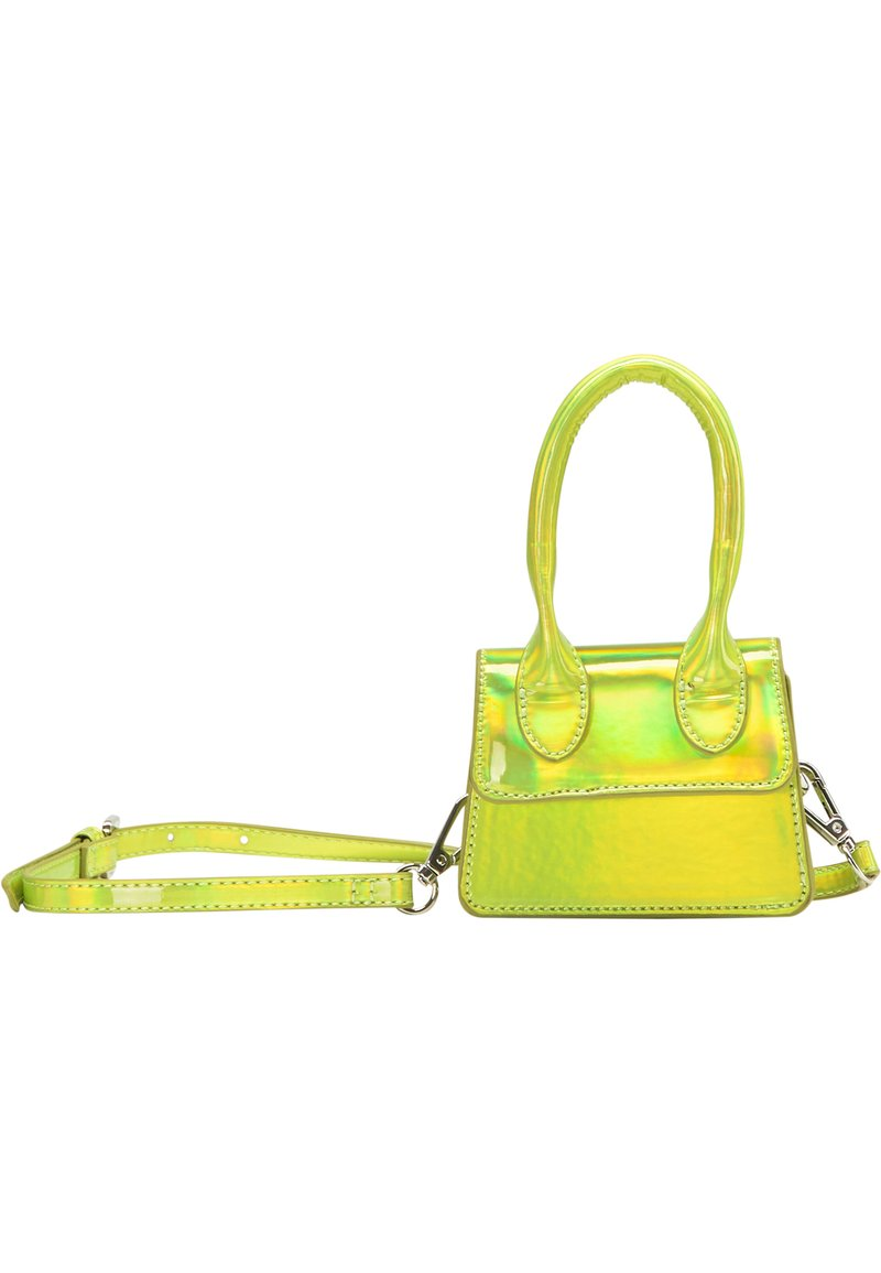 myMo ATHLSR - MINI-TASCHE - Handbag - grün holo