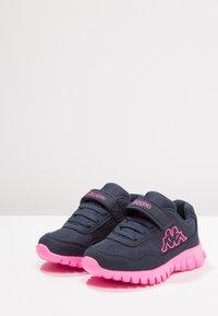Kappa - Sports shoes - navy/pink - 3