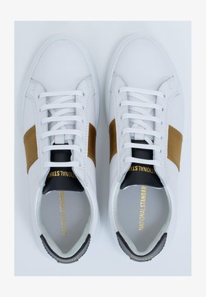 Trainers - white-gold