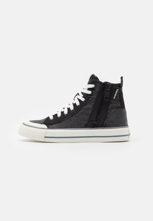 ASTICO S-ASTICO MID ZIP W - High-top trainers - black