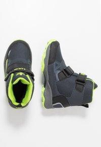 LICO - AINO - Winter boots - marine/schwarz/lemon - 0