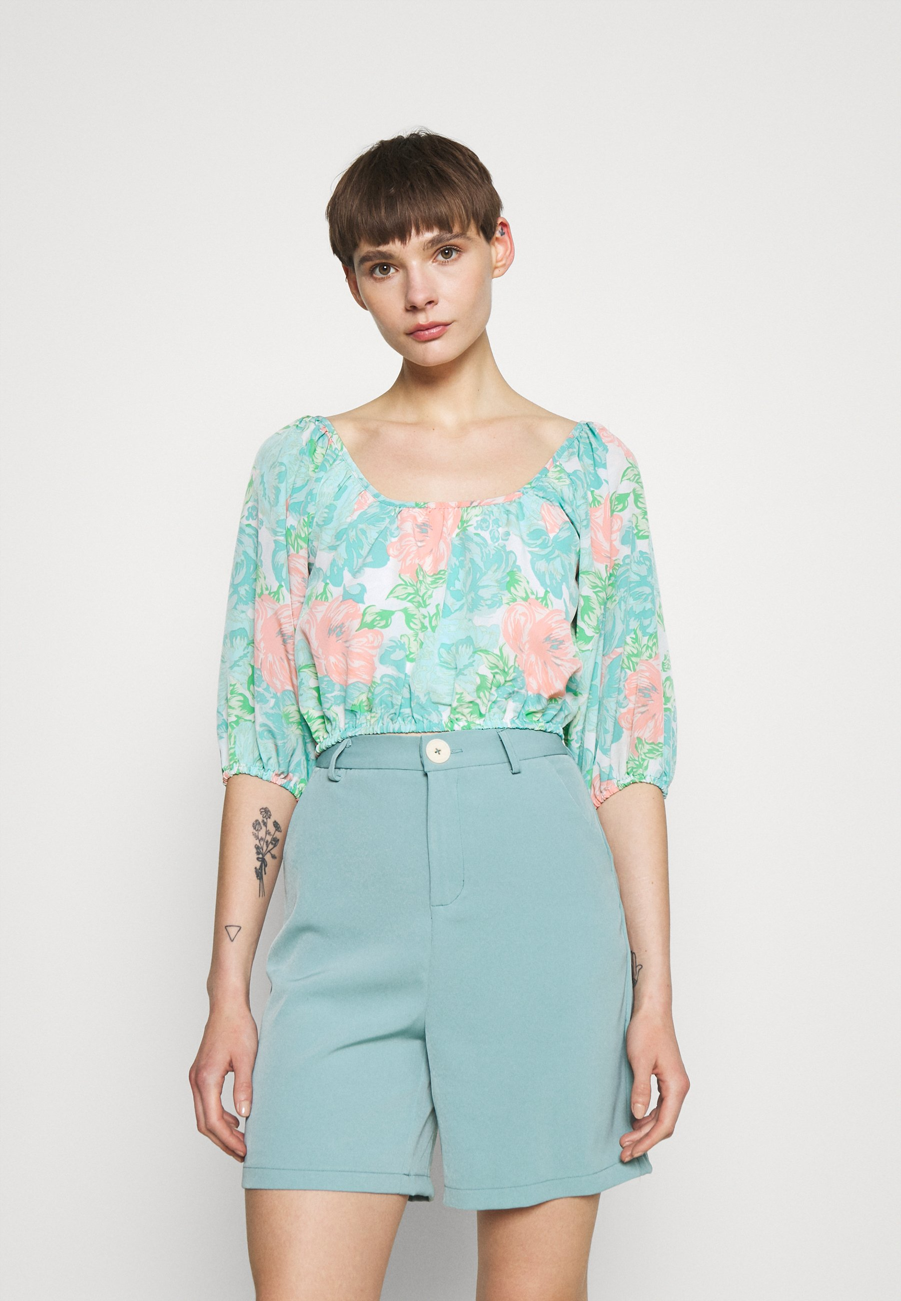 Women SHIMMER - Long sleeved top