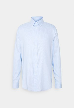 LOGO FITTED - Formal shirt - blue