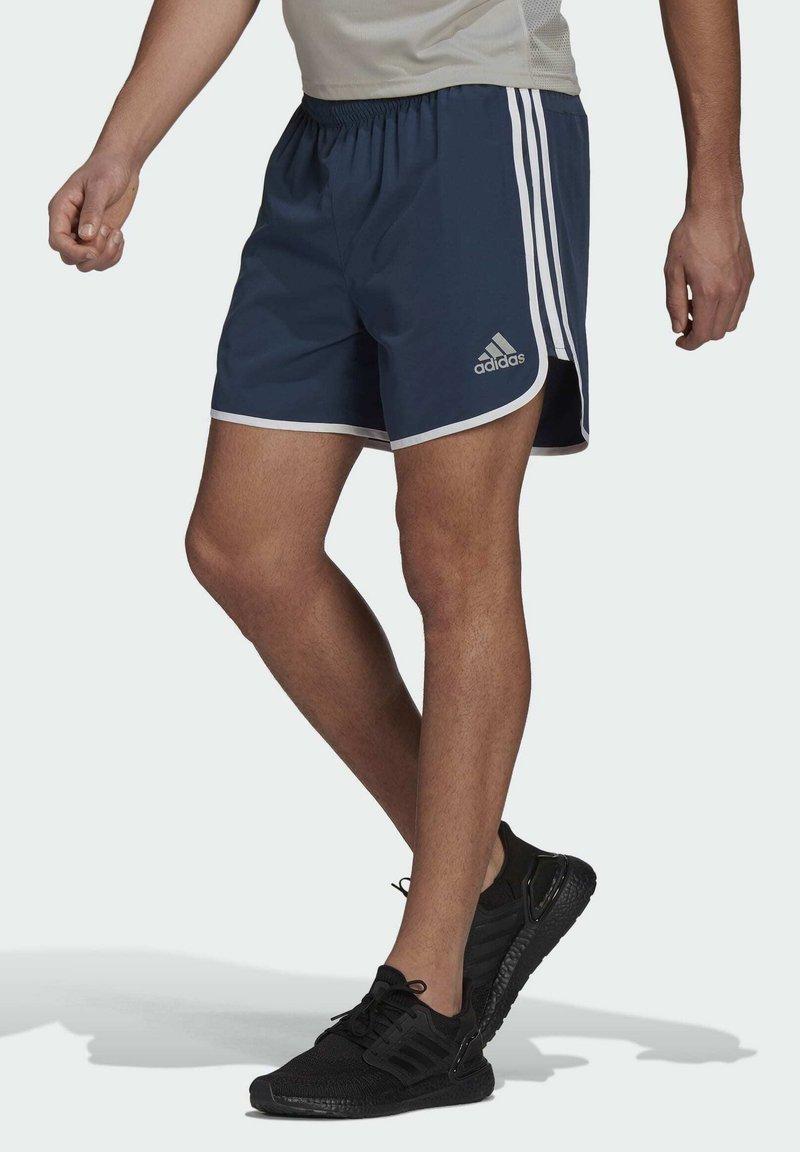 adidas Performance - MARATHON 20 SHORTS - Sports shorts - blue