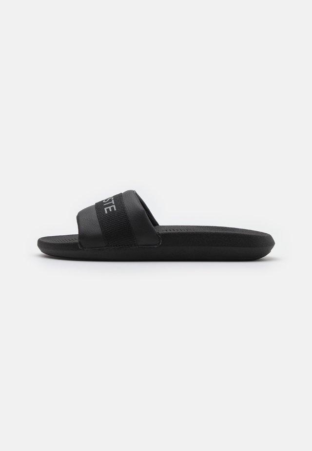 CROCO SLIDE - Mules - black
