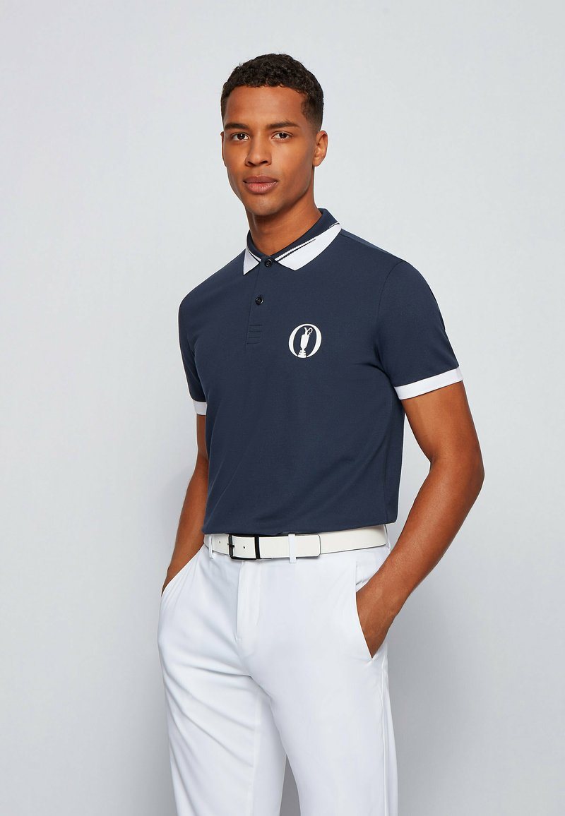 BOSS - PADDY BO - Polo shirt - dark blue