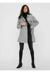 Vero Moda - Manteau classique - light grey melange - 1