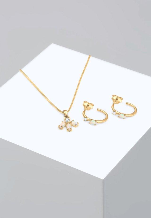 SET - Korvakorut - gold-coloured