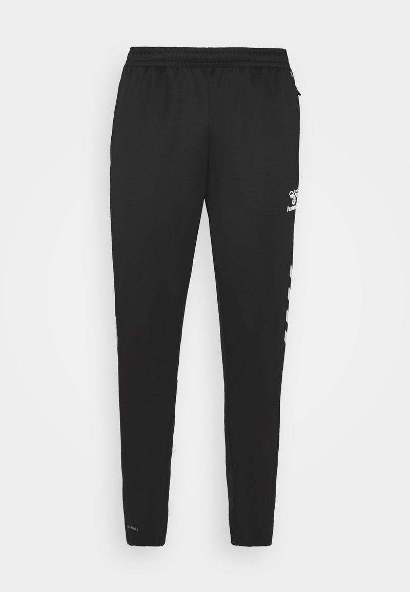 Hummel - CORE XR TRAINING PANTS - Träningsbyxor - black