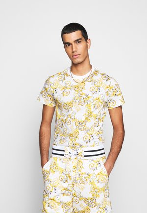 PRINT NEW LOGO - T-shirt imprimé - bianco ottico