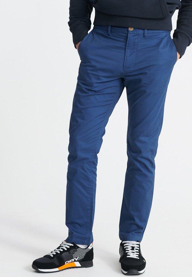 Chinos - mallard blue