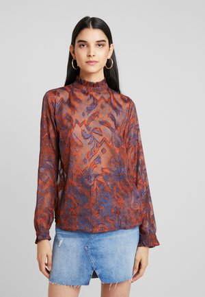YASSARA - Blouse - bombay brown