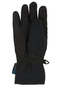 Ziener - LOX AS® JUNIOR - Gloves - black/grey night camo - 2