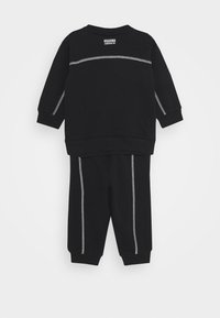 adidas Originals - CREW SET UNISEX - Tracksuit - black - 1