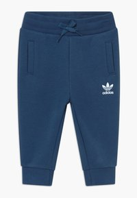 adidas Originals - BIG TREFOILCREW SET - Survêtement - marin/white - 2