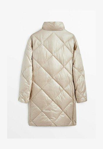 STEPPMANTEL  - Outdoor jacket - beige