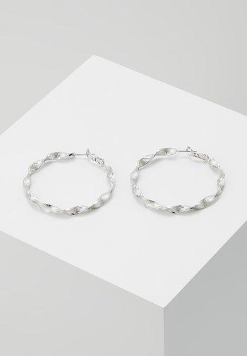 CREOLEN - Earrings - silver-coloured