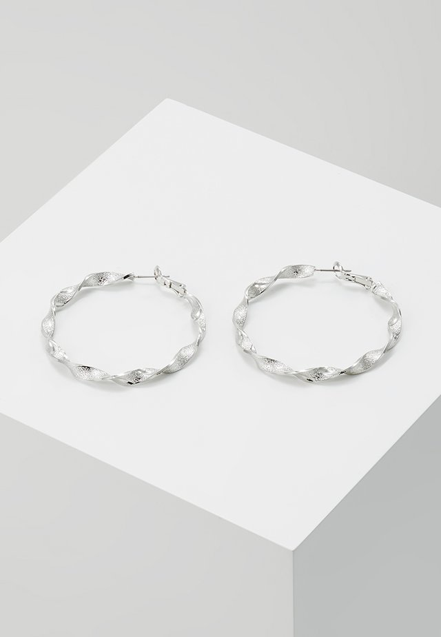 CREOLEN - Earrings - silver-coloured