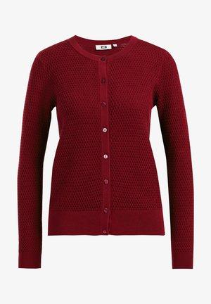 Cardigan - vintage red